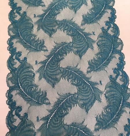 Zila elastīga mežģīnes maliņa. Photo 1