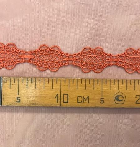 Oranža macrame mežģīņu apdare. Photo 5