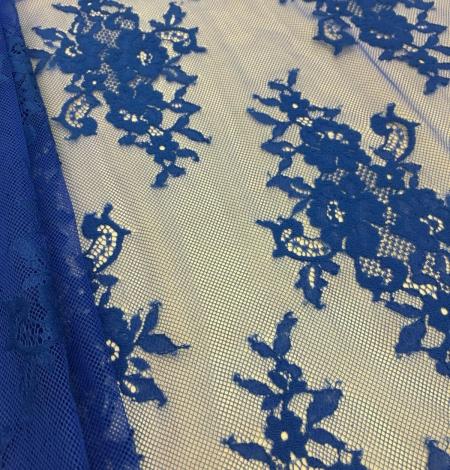Zila Chantilly mežģīne. Photo 3