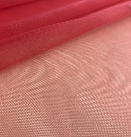 Aveņu sarkanā tilla audums. Photo 4