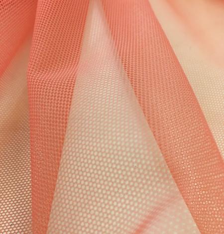 Oranžas krāsas tilla audums. Photo 7