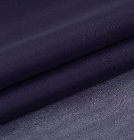 Lillīgi zils bieza zīda organzas audums. Photo 2