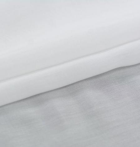 Piena balts organzas šifona audums. Photo 2
