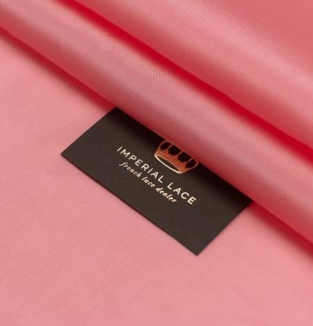 Rozā laša krāsas zīda oderes audums. Photo 5