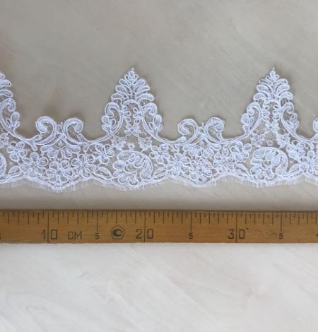 Balta kāzu mežģīnes maliņa. Photo 7