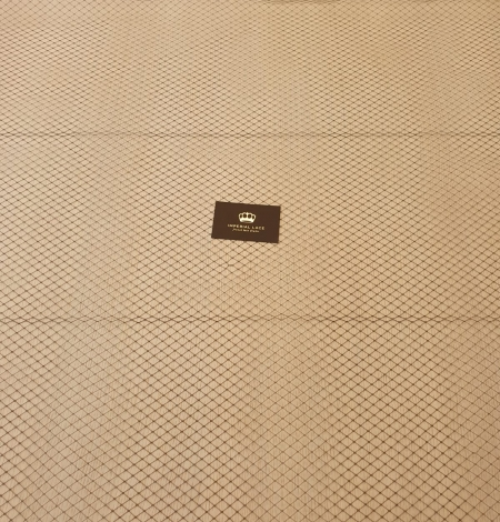 Melnas cepures tīkla tilla audums. Photo 10