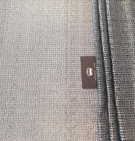 Metallic color guipure lace fabric . Photo 8