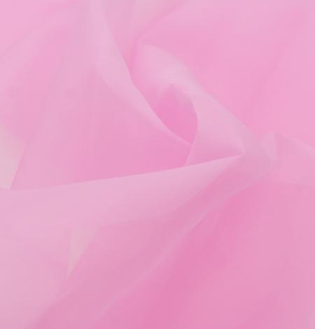 Bubble gum rozā zīda organzas audums. Photo 5
