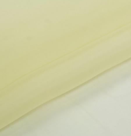 Citrona dzeltens zīda organzas audums. Photo 2