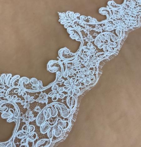 Balta kāzu mežģīnes maliņa. Photo 4