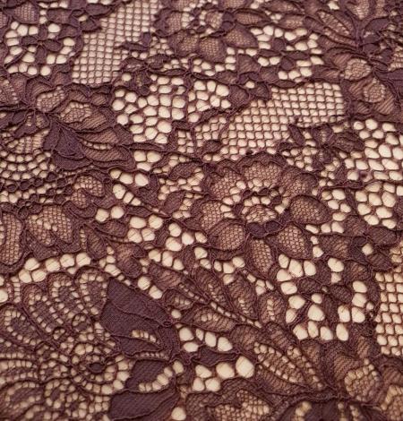 Baklažāni violeta guipure mežģīnes maliņa. Photo 2