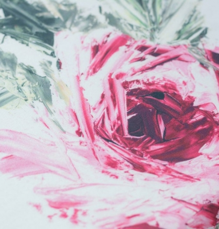 Mikodo poliestera daudzkrāsains printēts audums. Photo 5