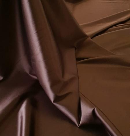 Šokolādes brūns satīns ar elastānu. Photo 4