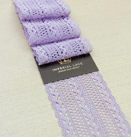Lavandas violeta macrame mežģīņu maliņa. Photo 8