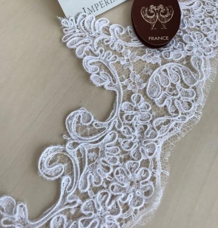 Balta kāzu mežģīnes maliņa. Photo 5