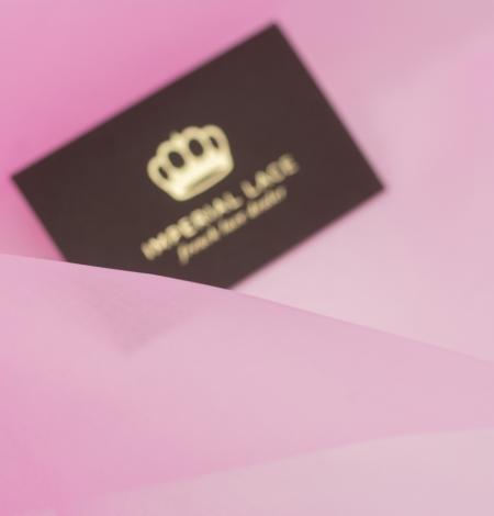 Bubble gum rozā zīda organzas audums. Photo 2
