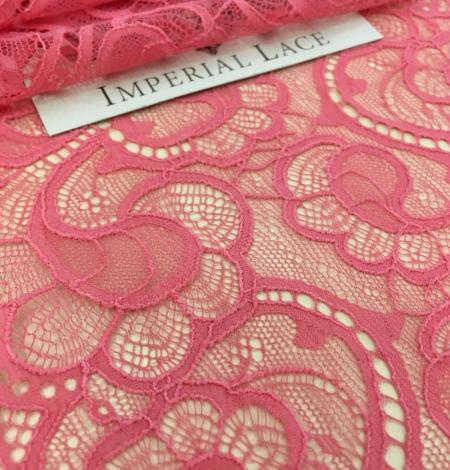 Aveņu rozā elastīga mežģīnes maliņa. Photo 1
