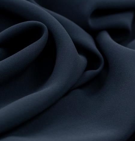 Tumši pelēki zils zīda krepa audums. Photo 4
