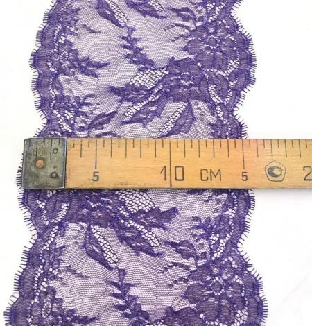 Violeta smalka mežģīne. Photo 5