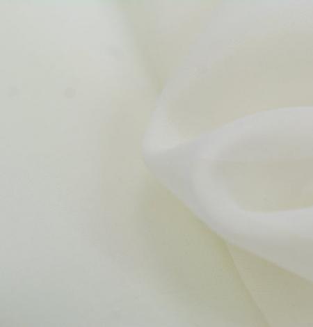 Ziloņkaula zīda organzas audums. Photo 5
