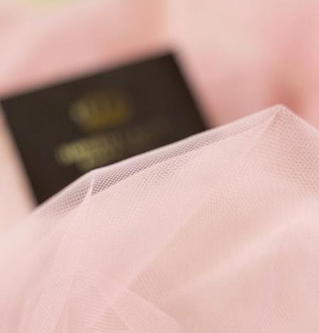 Veci rozā mīksts tilla audums. Photo 3
