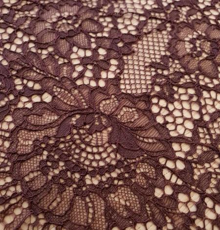 Baklažāni violeta guipure mežģīnes maliņa. Photo 3