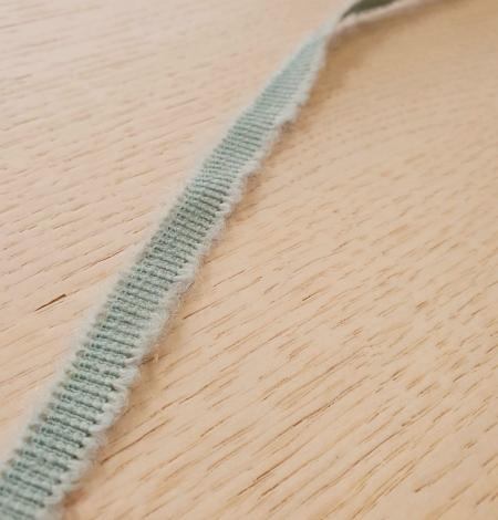 Piparmētru zaļās vilnas grosgrain lente. Photo 7