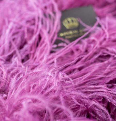 Aveņu rozā naturālas strausa spalvas. Photo 5