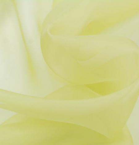Gaiši zaļš zīda organzas audums. Photo 6