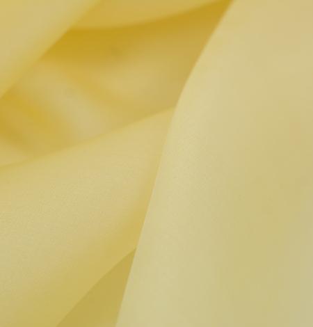 Gaiši dzeltens zīda organzas audums. Photo 4