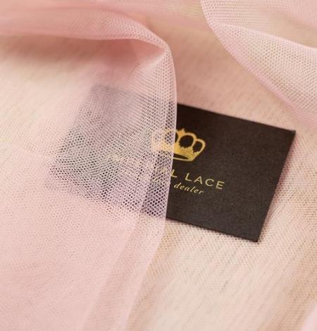 Veci rozā mīksts tilla audums. Photo 5