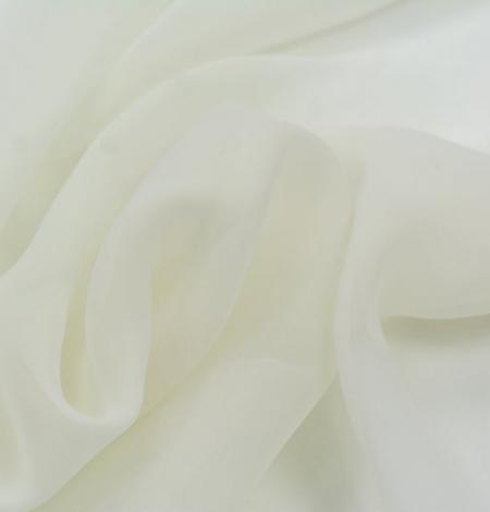Ziloņkaula zīda organzas audums. Photo 7