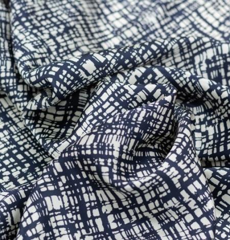 Abstrakts līniju raksta zīda audums. Photo 2