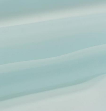 Gaiši zils zīda organzas audums. Photo 4