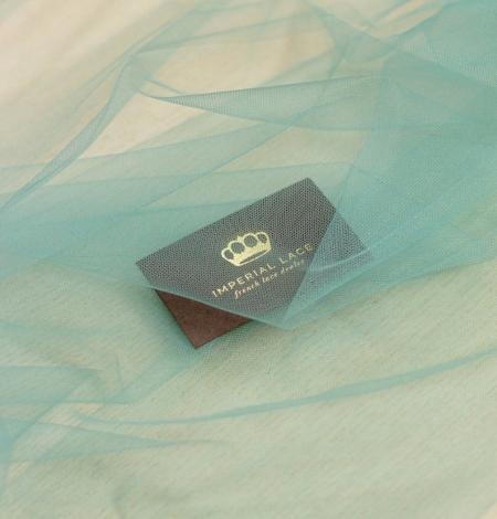 Lagūnas jūras zaļš mīksts tilla audums no Itālijas. Photo 1