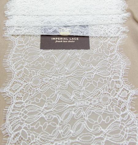 Ziloņkaula abstrakta raksta chantilly mežģīņu mala. Photo 3