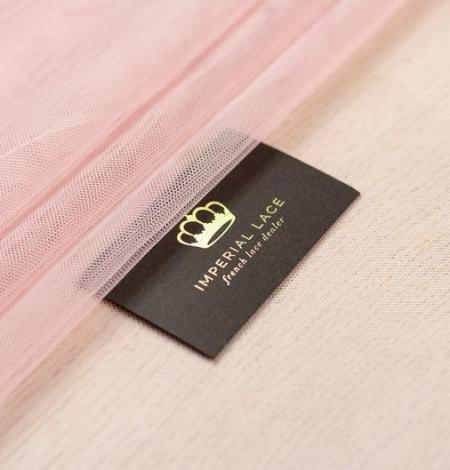 Veci rozā mīksts tilla audums. Photo 4