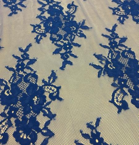 Zila Chantilly mežģīne. Photo 2