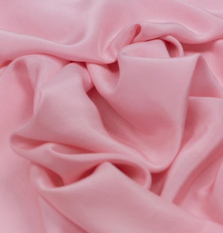 Rozā zīda oderes audums. Photo 3