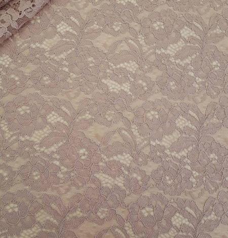 Cappuccino Lace Fabric. Photo 1