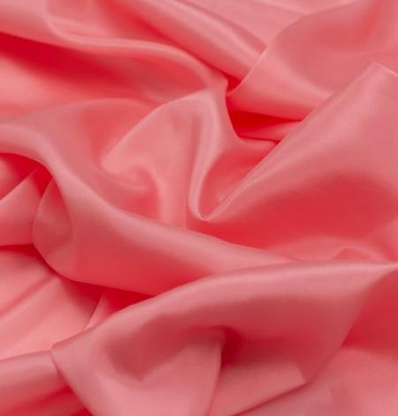 Rozā laša krāsas zīda oderes audums. Photo 2