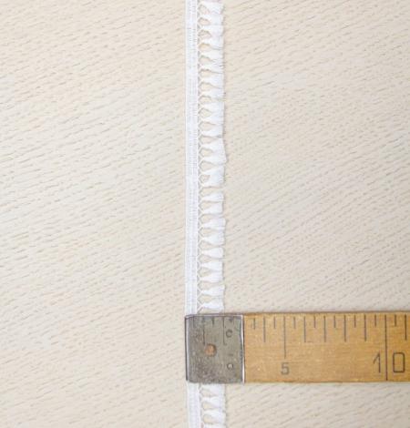 Sniega balta macrame mežģīņu apdare. Photo 5