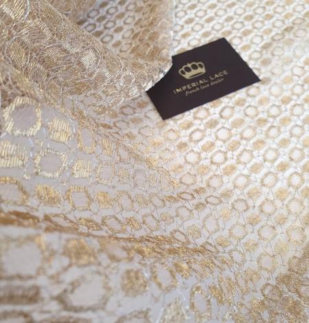 Zelta Chantilly Mežģīne. Photo 3