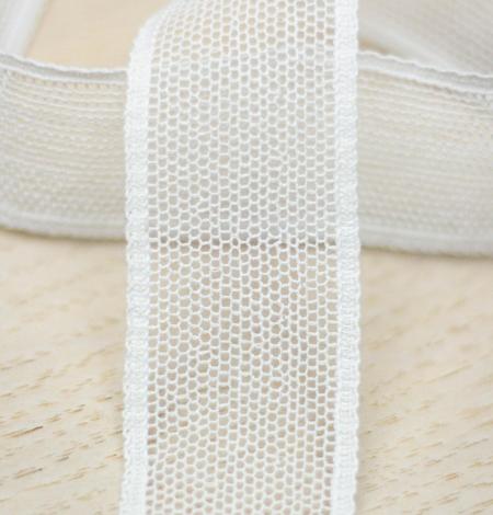 Piena balts tīkla raksta mežģīņu mala. Photo 2