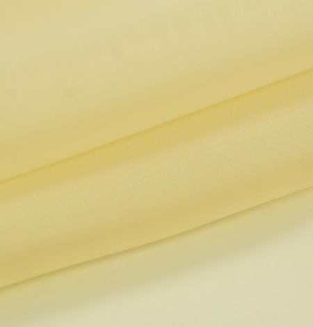 Gaiši dzeltens zīda organzas audums. Photo 7