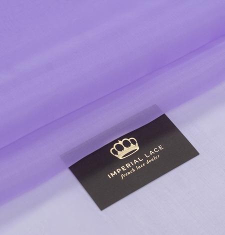 Violets zīda organza audums. Photo 1