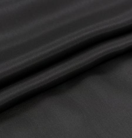 Melni pelēks zīda oderes audums. Photo 2