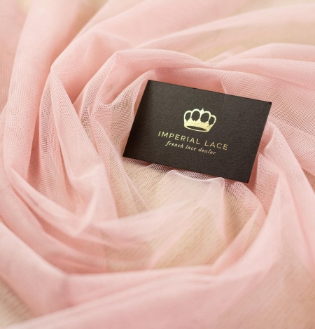 Veci rozā mīksts tilla audums. Photo 1