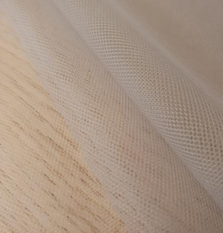 Zilganpelēks smalkas struktūras tilla audums no Itālijas. Photo 8