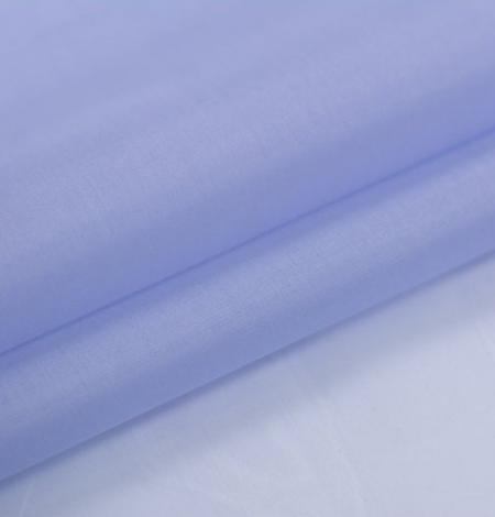 Zils ar pelēku toni zīda organzas audums. Photo 5